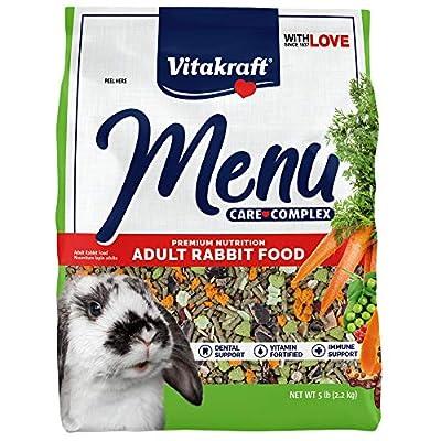 Vitakraft Menu Vitamin Fortified Pet Rabbit Food, 5 Lb. by Vitakraft