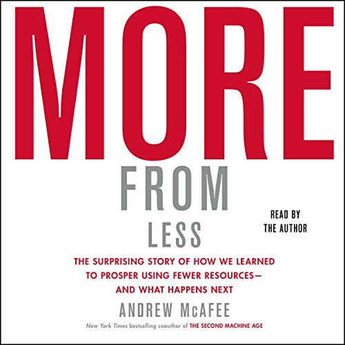 More from Less Audiobook By Andrew McAfee cover art