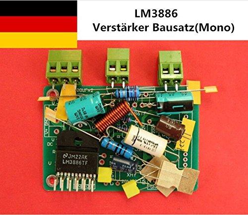 Douk Audio LM3886 Amplifier DIY kit Verstärker-Teile for HiFi (Mono Channel)