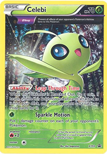 Pokemon - Celebi (XY93) - XY Black Star Promos - Holo