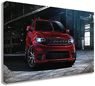 Not Hellcat CFM Performance 1-0302-4-W Baffled Billet Valve Cover Breather Filter Oil Cap 06-15 Jeep Grand Cherokee SRT-8 6.1 6.4 HEMI White