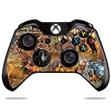MightySkins Skin Compatible with Microsoft Xbox One or One S Controller - Deer Pattern   Protective, Durable, and Unique Vinyl wrap Cover   Easy to Apply, Remove, and Change Styles   Made in The USA