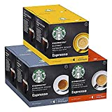 Starbucks Black Cup Variety Pack De Nescafe Dolce Gusto Cápsulas De Café 6 X Caja De 12Unidades