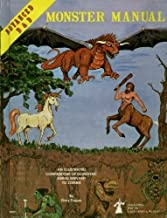 Advanced Dungeons and Dragons Monster Manual: Special Reference Work