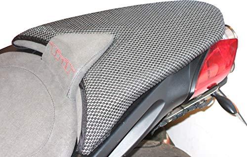 Cubierta TRIBOSEAT para Asiento Antideslizante Accesorio Personalizado Negro Compatible con Benelli TNT