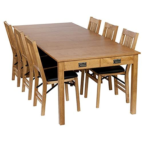 8 Person Dining Table Amazon Com