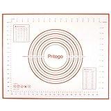 Pritogo - Tappetino da forno in silicone con tessuto, 50 x 40 cm, senza BPA, da -40°C a 2...