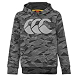 Canterbury Sweat Rugby Capuche Camo - S, Gris