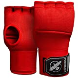 Hayabusa Quick Gel Boxing Hand Wrap Gloves - Red, Small