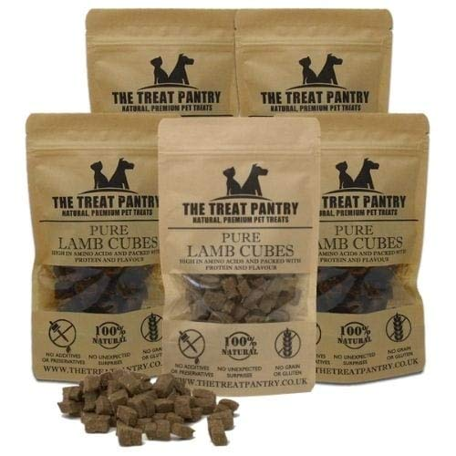Lamb Cubes 5 Pack Dog Treats