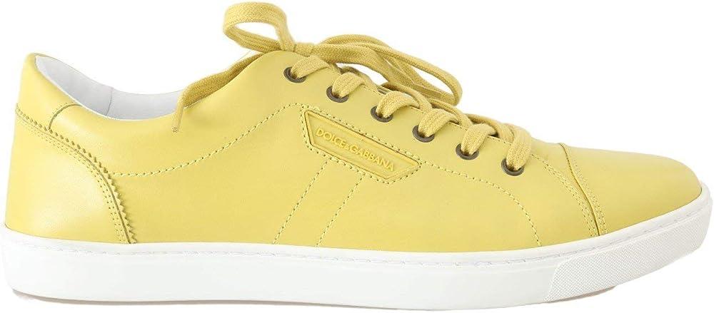 Dolce & gabbana, sneakers uomo in pelle MV1645-39