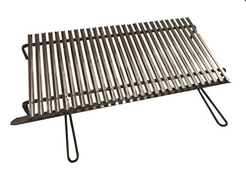 griglia barbecue 100 GLOBALINGROSS GRATICOLA GRIGLIA Inox 100X50 CM