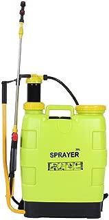 Wifehelper Pulverizador de Presión de Jardín 20L Mochila Química Aspiradora de Malezas Mochila de Bomba Aspersor de Malezas para Pesticidas Herbicidas Insecticidas Fungicidas