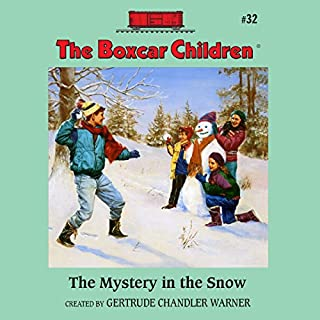 The Mystery in the Snow cover art