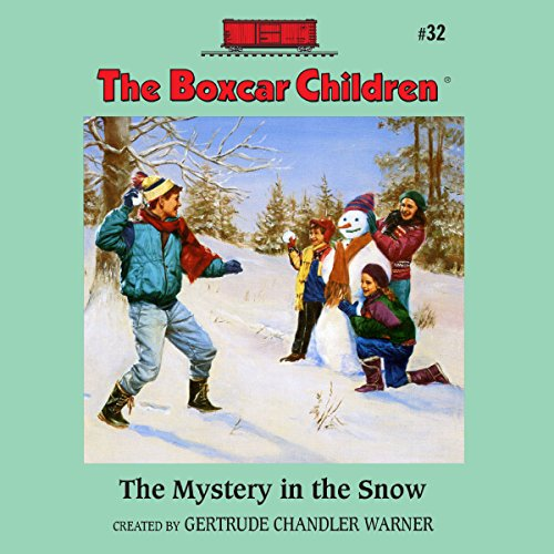 The Mystery in the Snow audiobook cover art