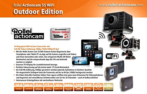 Rollei Bullet 5S WiFi Outdoor