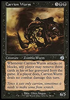 Magic: the Gathering - Carrion Wurm - Torment