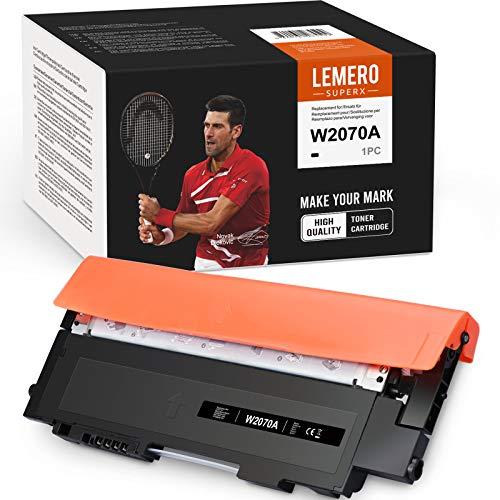 LEMERO SUPERX 117A W2070A Toner Kompatible [mit Chip] für HP 117A W2070A für HP Color Laser MFP 179fnw 178nw 179fwg HP Color Laser 150a 150nw (1xSchwarz)