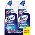 2-Pack Lysol 10X Cleaning Power Toilet Bowl Cleaner 48oz