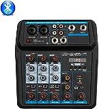 miglior Depusheng U4 Console per DJ audio mini mixer porta