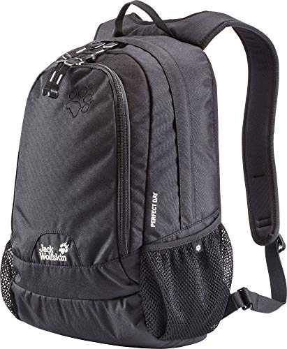 Jack Wolfskin Zaino Perfect Day, 44 x 28 x 18 cm, 22 Litri, Nero (Black), Taglia unica