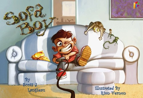 Sofa Boy: Children's Book, Picture Book, Bedtime Stories (English Edition)