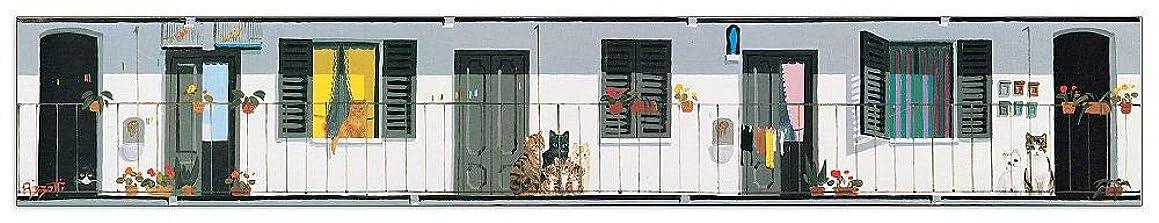 Artopweb TW21744 Decorative Panel, 34.5x5.5 Inch, Multicolored