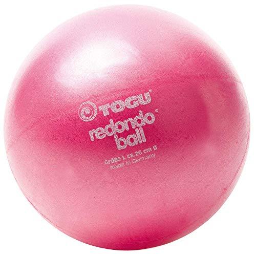 Togu - Pallone Redondo 26 cm, colore: Rosso/Rosa
