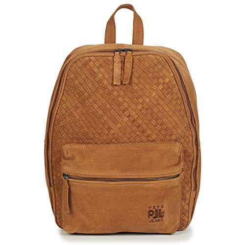 Pepe Jeans London Herren Beleno Backpack Rucksack Beige (Sand)