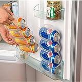 Soda Can Organizer - Beer Soda Can 4 Storage Box Kitchen Fridge Drink Bottle Holder Fridge Refrigeration Organizer Beer Coke Drink Space-Saving - Can Organizer Soda Can Dispenser