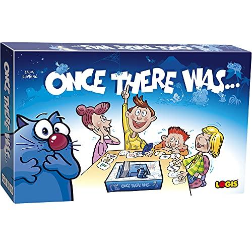 El juego de mesa cuenta una vez I Juega y aprenda para niños, juego educativo para 2 a 5 jugadores a partir de 7 años I El juego ayuda a hacerlo, imaginación y creatividad, comunicaciones