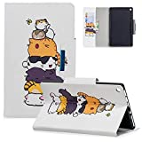 Case for Amazon Kindle Fire HD 8 2018, Coopts Slim PU