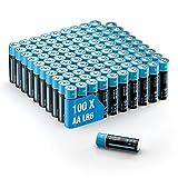 Pilas alcalinas 100 pilas AA – Lote de 1,5 V potentes de...