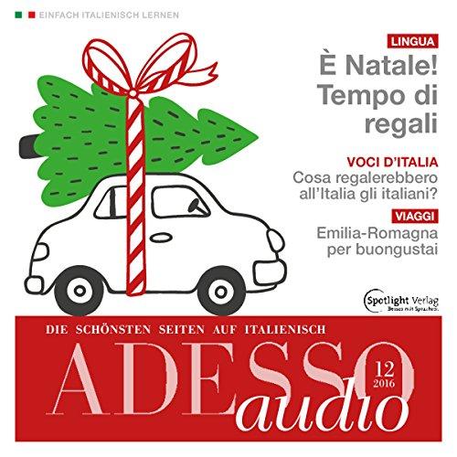 ADESSO Audio - È Natale! Tempo di regali. 12/2016 Titelbild