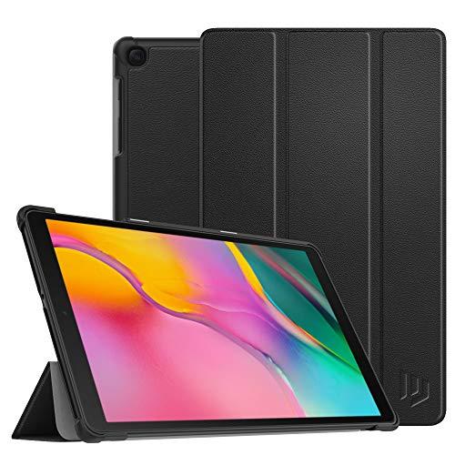 """Dadanism Hülle Ersatz für Samsung Galaxy Tab A 10.1"""" 2019 (SM-T510 / SM-T515), Leicht Schutzhülle mit Standfunktion PU Leder Tablet Cover Ständer - Schwarz"""