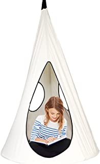 BHORMS Children Nest Hammock Swing Chair Kids Pod Swing Seat Hanging Tree Tent for Indoor Outdoor-40 Inch