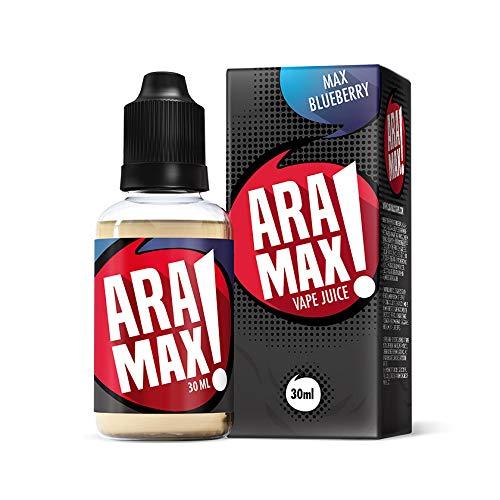 電子タバコ リキッド Aramax 30ml マックスブルーベリー(Maxblueberry)アラマックス