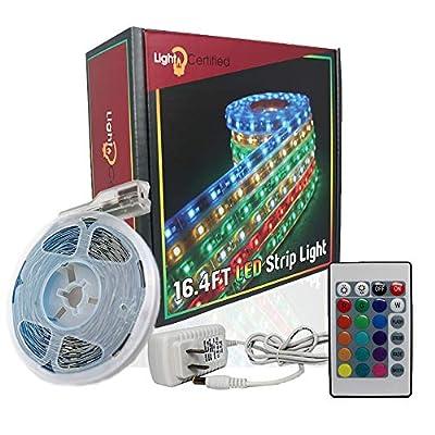 Party Lights LED Strip Lights For Bedroom & Room Lights, Home Decorations Just Like Tik Tok Lights - Easy To Install RGB LED Strip Lights - Luces LED Para Decoracion Habitacion
