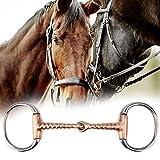 HEEPDD - Morsetto per cavallo, multiuso, in acciaio INOX