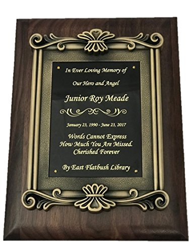 NWA Wooden Award, Retirement, Achievement Award, Wedding, Anniversary, Graduation, Police, Corporate, Firefighters,Sports Wooden Plaque, Customized, Engraving Included