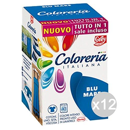 Set van 12 Italiaanse collecties, blauw, mare + zout all-in-1 nieuw wasmiddel en koe