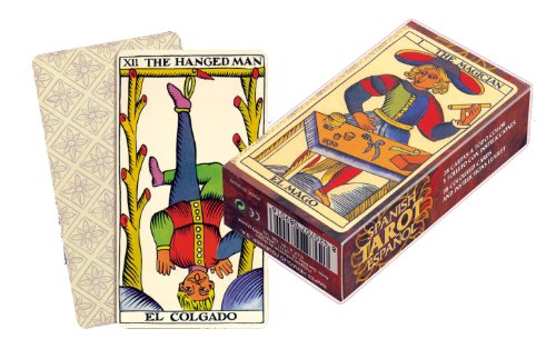 Fournier Español - Baraja TAROT clásica de 78 Cartas, Color marrón - ADIVINACIÓN
