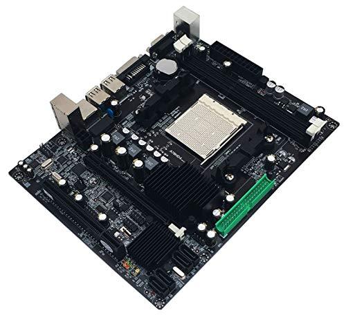 ETbotu Gifts voor mannen vrouwen - Mainboard A780 Praktische Desktop PC Computer Moederbord Moederbord AM3 Ondersteunt DDR3 Dual Channel AM3 16G Geheugen Opslag