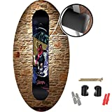 Calco <span class='highlight'><span class='highlight'>Mt</span></span>.Wall SnowStuds || NEW - GRIPPING Snowboard Wall Mount Vertical || Protective Snowboard Hanging || Includes Snowboard Mounting Hardware, Mounting Discs & Mounting Screws