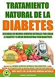 Tratamiento Natural de La Diabetes: Descubra Los Mejores Remedios Naturales Para Curar La Diabetes y el Mejor Menu Natural Para Diabeticos - Incluye Mejores Recetas Para Diabeticos