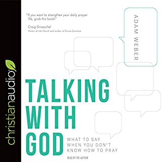 Talking with God audiobook cover art