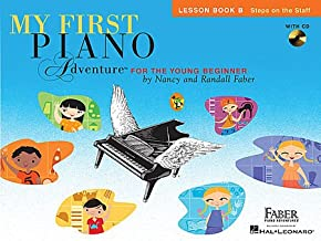 My First Piano Adventures - Level B Set (2 Book, 1 CD Set, Lesson Book B with CD, Writing Book B)
