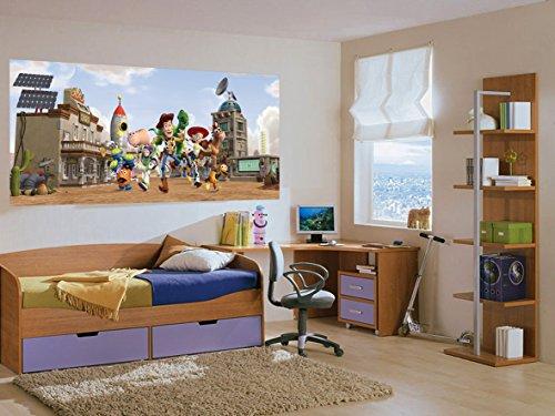 AG Toy Story/Poster géant Horizontal- Papier Peint 202x90 cm-Décoration Murale -