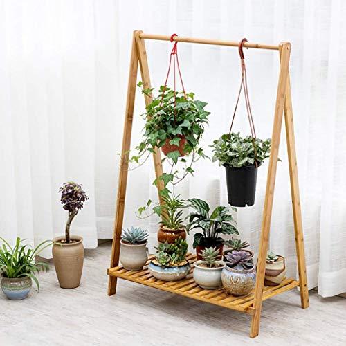 YINUO Bureau de table bureau de fleurs stand de stockage baie de baie fenêtre Racks charnues stand de fleurs simple couche Mini bois taille: 36x18x33cm (Size : 70x38x90cm)