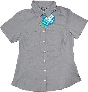 Columbia Women's Omni-Shade UPF Button Up Shirt Blouse